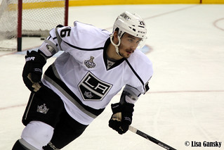 Slava Voynov leads all Kings defensemen with four goals during the playoffs. (tsyp9/Creative Commons)