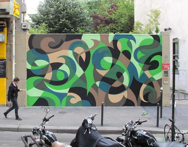 Paris Canal Mural : Le Finale.