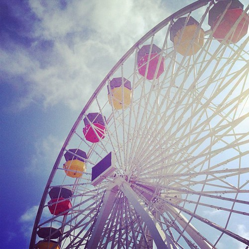 Ferris Wheel on #santamonica pier #california