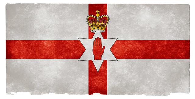 Northern Ireland Grunge Flag from Flickr via Wylio