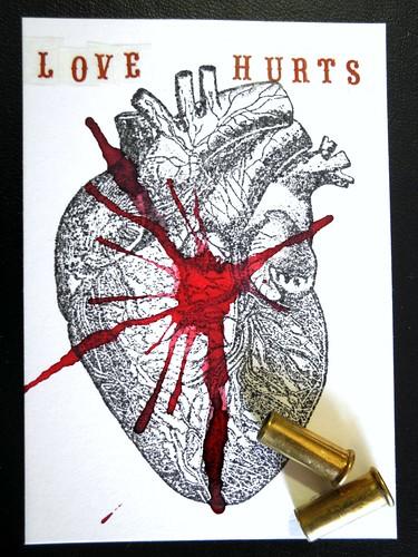 Love Hurts ATC