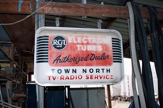 Radio advert sign