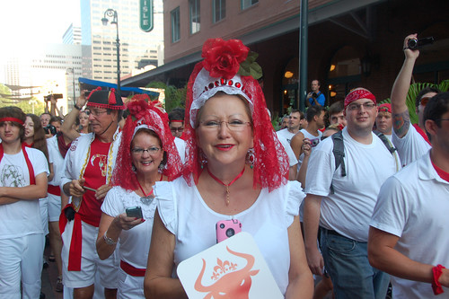 Running of the Bulls in New Orleans 2011. Photo by Sally Asher.