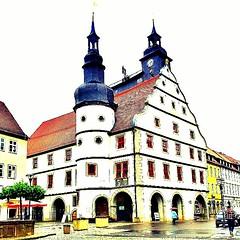 Town hall of Hildburghausen.