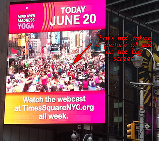 Solstice in Times Square
