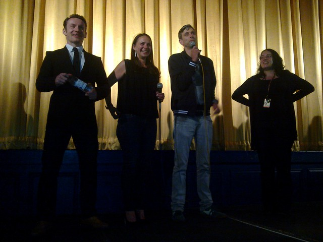 Guinea Pigs movie director and crew at edinburgh film fest
