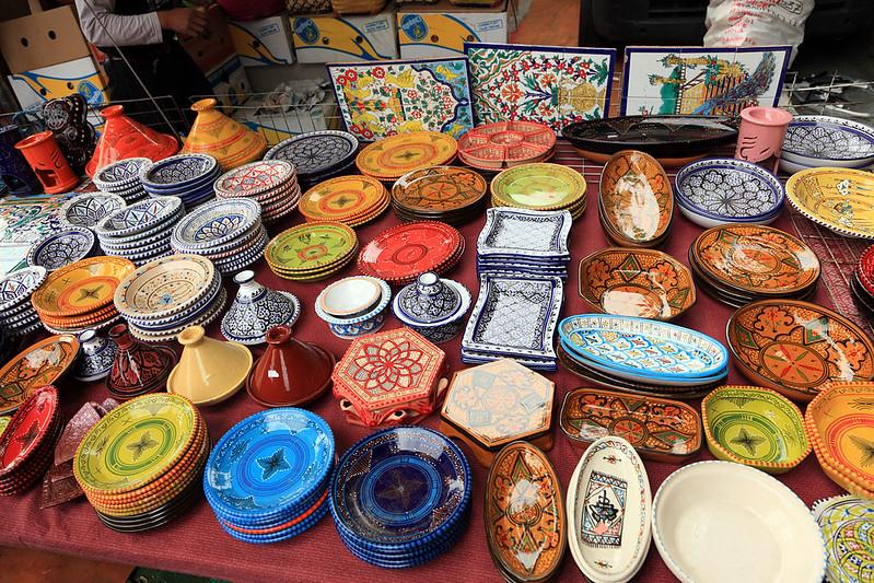Ceramic stall