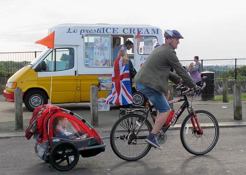 Cykla med Cykelkärra