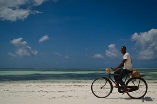 White Sand Cyclist