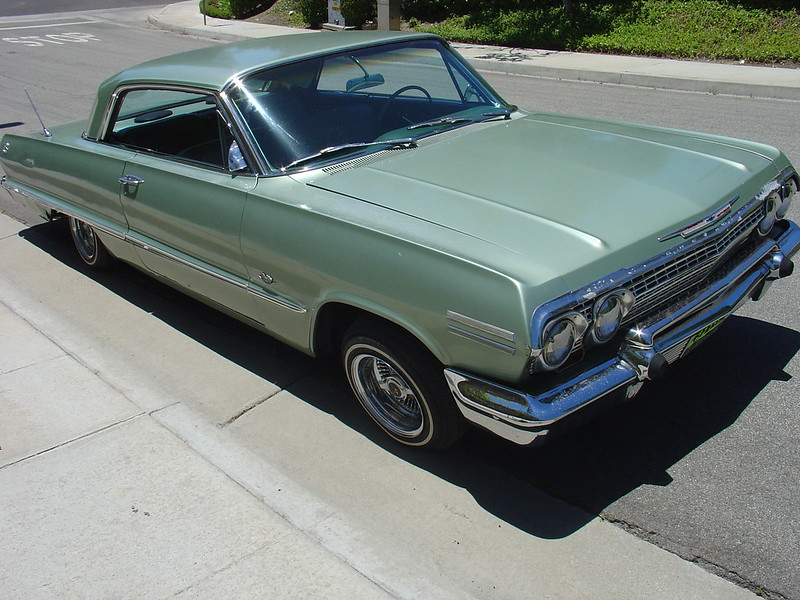 recent pics eazy e 39 s mint green 63 impala. Black Bedroom Furniture Sets. Home Design Ideas