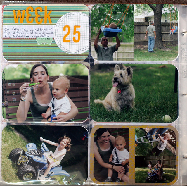 Project Life 2012 | Week 25