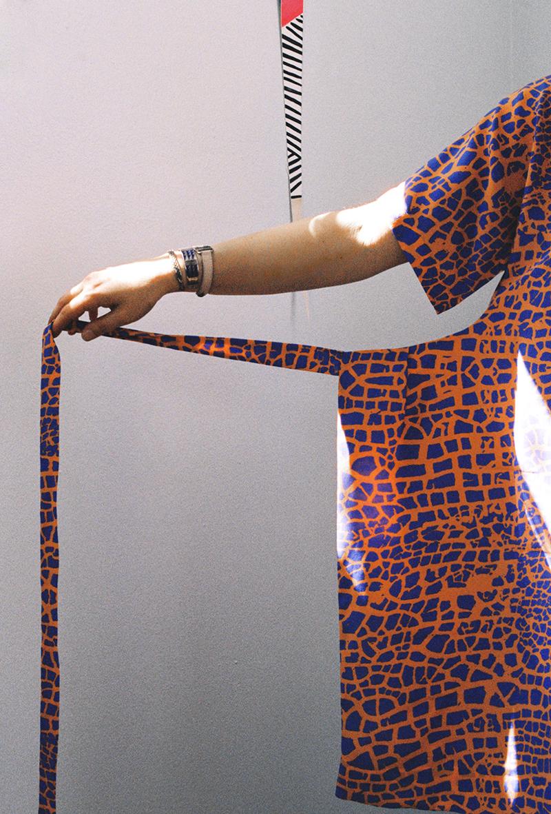 ERMIE/Myrtle Raku Apron Dress