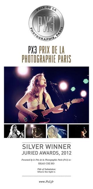 (Prix de la Photographie, Paris) 法國巴黎 PX3國際攝影比賽