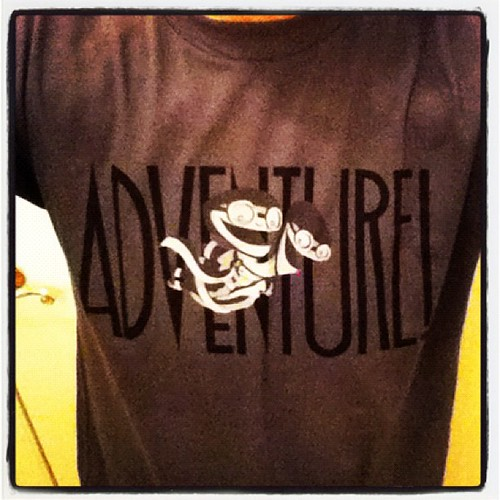 @doublefine adventure kickstarter backer t-shirt