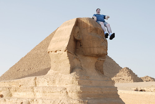 Slide Guy Visits the Sphinx