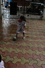 Football Marathon Girl of Bandra Marziya Shakir 4 Year Old by firoze shakir photographerno1