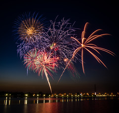 Bay City Fireworks Festival by Chris Parfeniueniuk