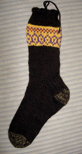 reticulated pattern socks for a4a