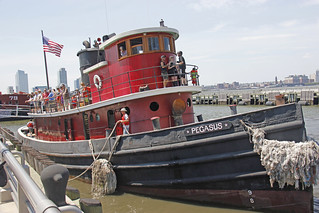 Free Rides Were Offered Aboard The Tugboat Pegasus At Pier 25 In Lower Manhattan On Saturday June 30, 2012