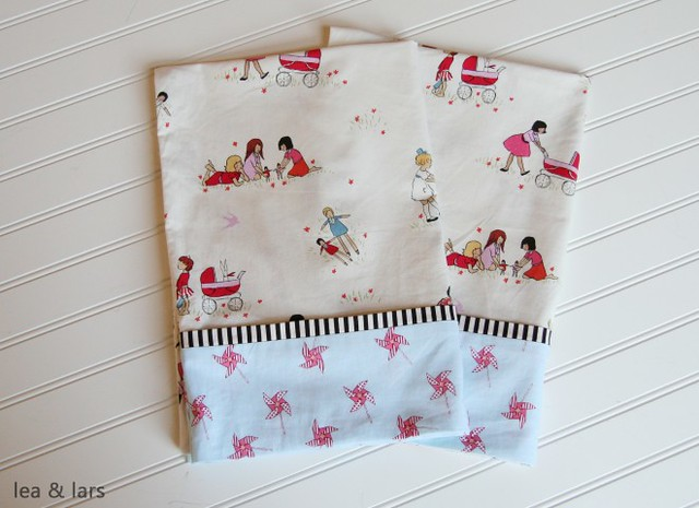 children at play pillowcase