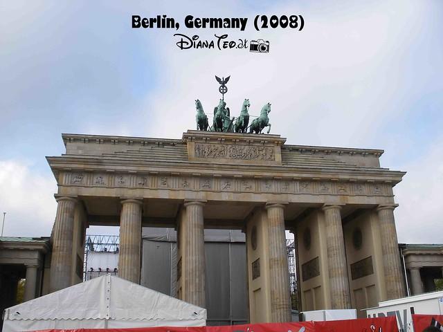Berlin Brandenburg Tor Gate 01