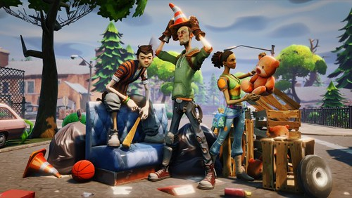 Fortnite: First Game On The Unreal Engine 4