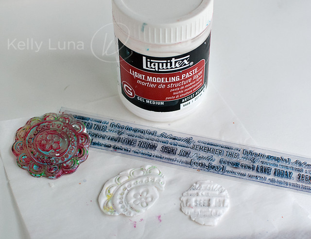stamped paste group