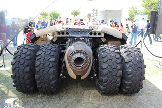 The Tumbler - Batmobile