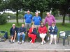 Bluebell PC team that competed in round one of the Sherwood Triples tournament