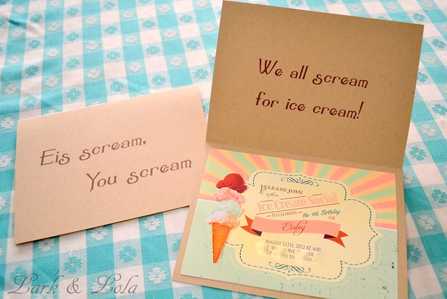 Eisley's Handmade Birthday Invites