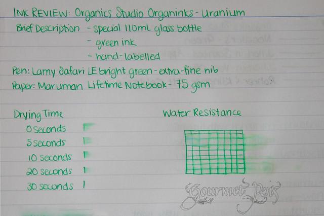 Organics Studio FP Ink