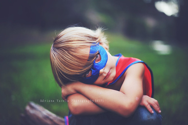 I had a dream that I could fly - Beautiful Portraits of Kids