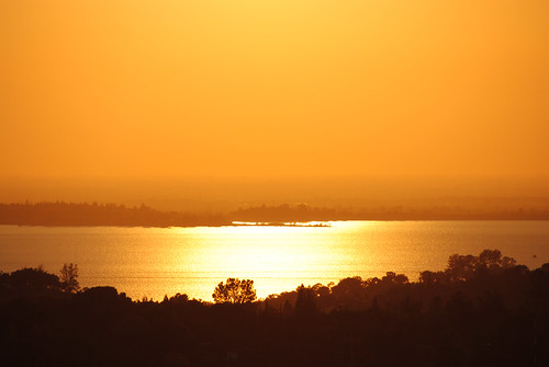 Sunset Over Folsom Lake 1