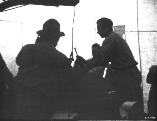 Oppenheimer rear oversees final assembly of Gadget Bradb2