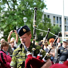 army, musician, people, soldier, marching, military, bagpipes,