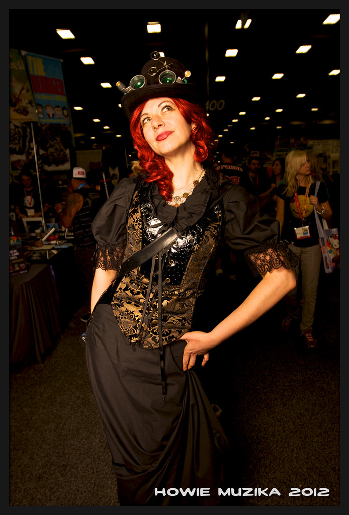 San Diego Comic-Con 2012 STEAMPUNK BEAUTY