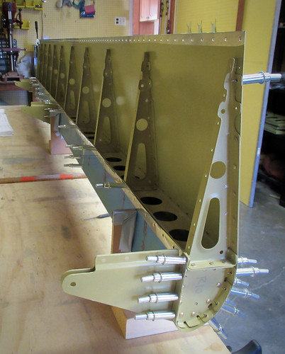 Right Flap Skin Assembly, Bottom View