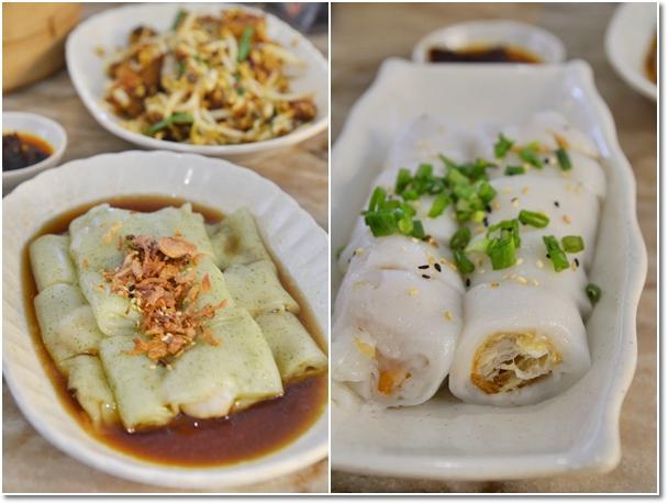 Spinach Chee Cheong Fun, Char Leong