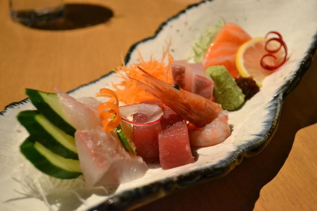 Sashimi platter, Kuriya Penthouse
