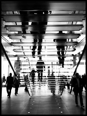 Apple Store, Treppe