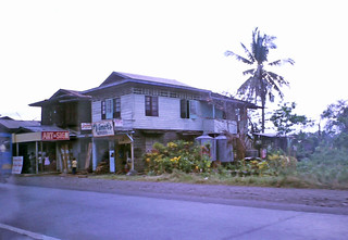 Roadside business houses - outside Panabo City