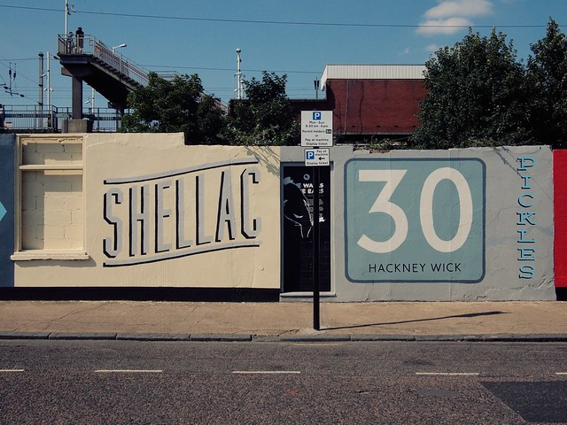 Hackney Wick signage