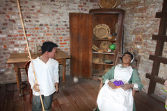 Inside of a Slave Cabin