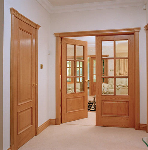 Interior Oak Door 493 x 500