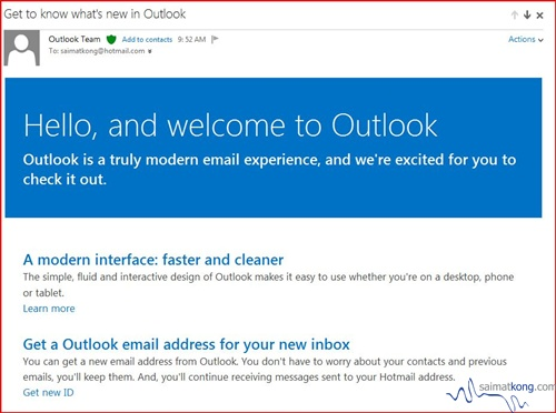 Hotmail.com vs Outlook.com - Migrate to Outlook‏ email now!