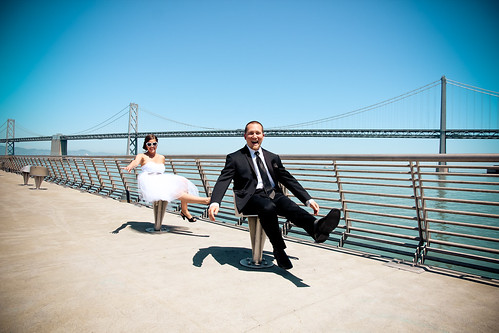 Julie Michelle Photography San Francisco Wedding Bay Bridge