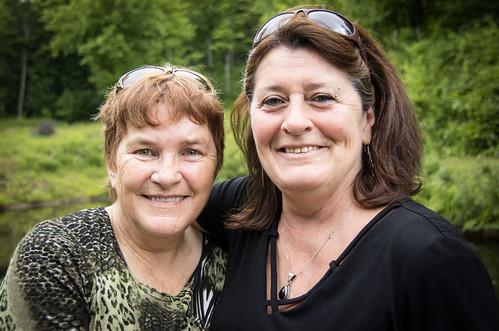 Suzi and Sharon