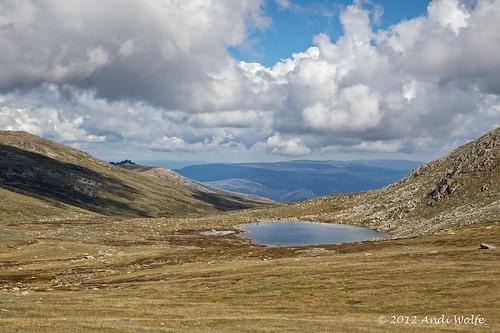 Lake Cootapatamba by andiwolfe