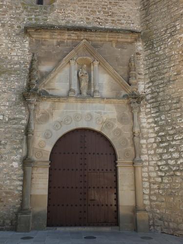 Iglesia de Santa María la Mayor - Portada