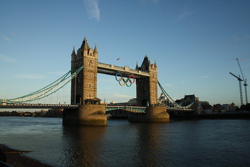 Tower Bridge London 2012 Olympics